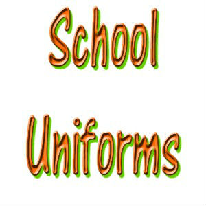 school uniforms graphic